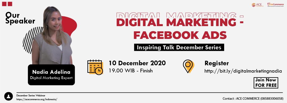 facebook ads webinar poster