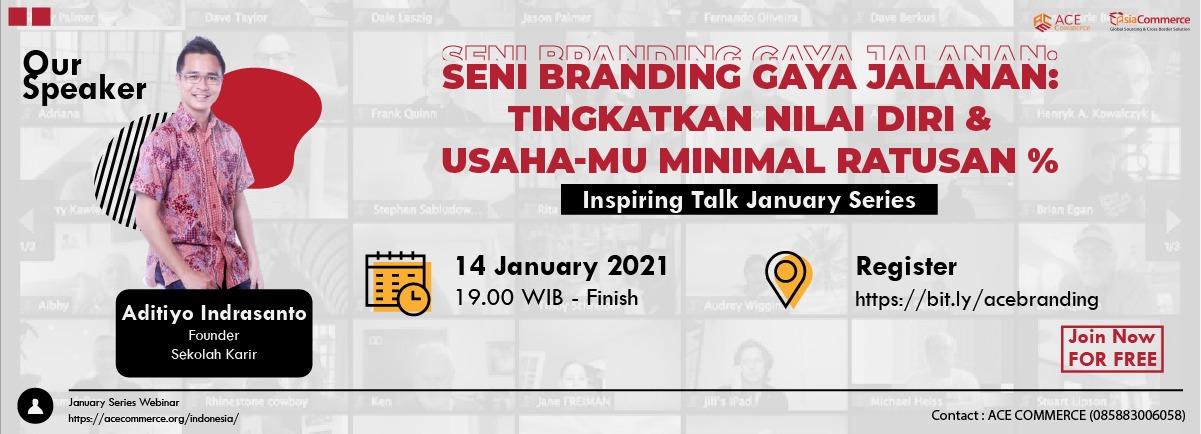 branding webinar poster